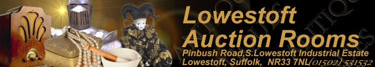 Lowestoft Auction Rooms Mobile Logo